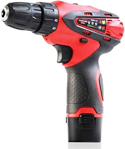 TYUIOYHZX Destornillador inalámbrico de taladro, taladros eléctricos herramientas de potencia de herramientas de herramientas Multi de herramientas establecidas para mejoras para el hogar y proyecto D