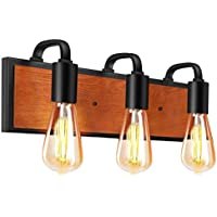 3-Count Litosky Industrial Wall Sconce Lighting