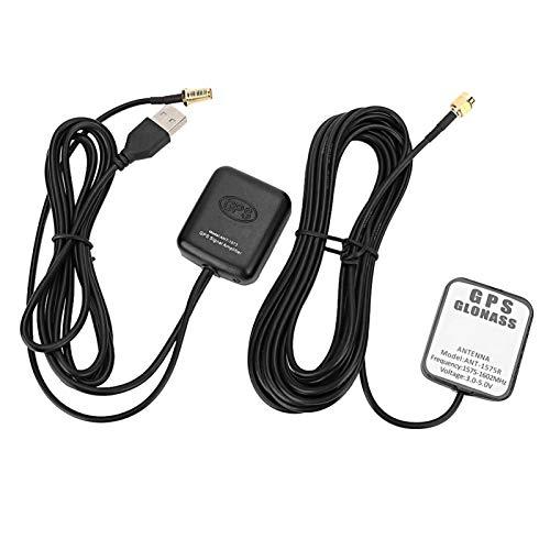 antena amplificador gps,Receptor de navegación automática de la antena aérea del amplificador de la señal del GPS del coche ANT-1573