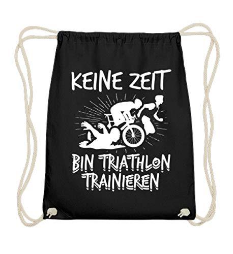 Chorchester No Zeit Poubelle de triathlon en coton - Noir - Noir, 37cm-46cm