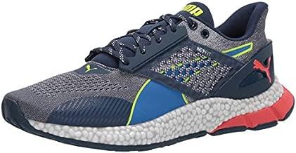 PUMA Men's Hybrid Astro Sneaker, Dark Denim-Palace Blue-Yellow Alert, 11 M US