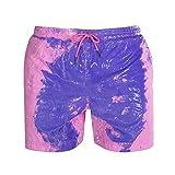 Bañadores Que cambian de Color Bañadores para Hombres Bañadores Shorts Calzoncillos Traje de baño Sunga Pink XXL