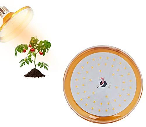 XGzhsa Pflanzenwachstumslampe LED, Pflanzenlampe klein, E27 LED-Pflanzenlampe Glühbirne Vollspektrum für das Wachstum von Hydroponischen Gewächshauspflanzen in Innenpflanzen (18 W, 220 V)