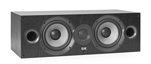 ELAC Debut C6.2 - Altavoz Central, Color Negro