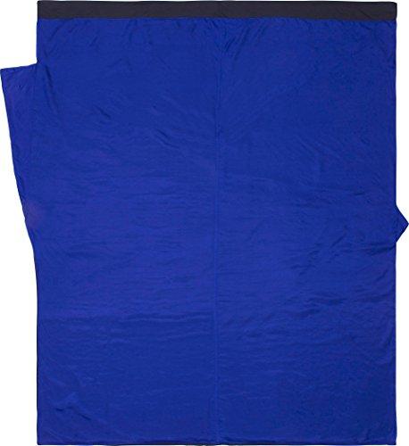 Cocoon SD24/80 Couette de Voyage Unisexe – Adulte, Bleu, 220 x 180 cm