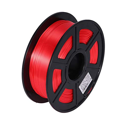 Night K Silk PLA Red 1.75mm 3D PLA Printer Filament Luxury Silky Luster 1KG Shiny 3D Pen Printing Materials Consumables With High Strength and Better Transparent