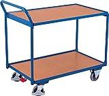 Tischwagen Etagenwagen mit 2 Ladeflächen 1.000 x 600 mm Traglast 250 kg