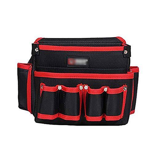 Cinturón de herramientas de jardín de bolsillo bol Oxford tela multifuncional de gran capacidad de reparación de herramientas de la correa del bolso bolsa de herramientas de la cintura Jardín correa d