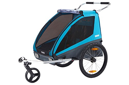 Lowest Prices! Thule Coaster XT Cycle/Stroll Trailer, Blue, One Size