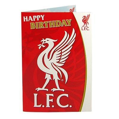 Liverpool FC Liverbird Geburtstagskarte mit Musik
