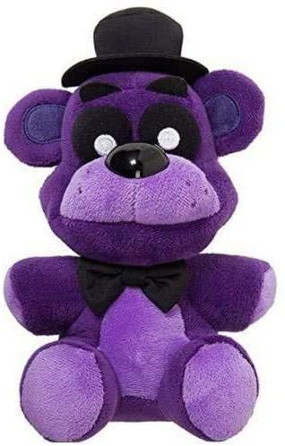 SAGUSI 7 Inch Five Nights Freddy's Plush FNAF Plush Toys Doll Stuffed Animal Children Stuffed Toy || US Stock (Purple Freddy)