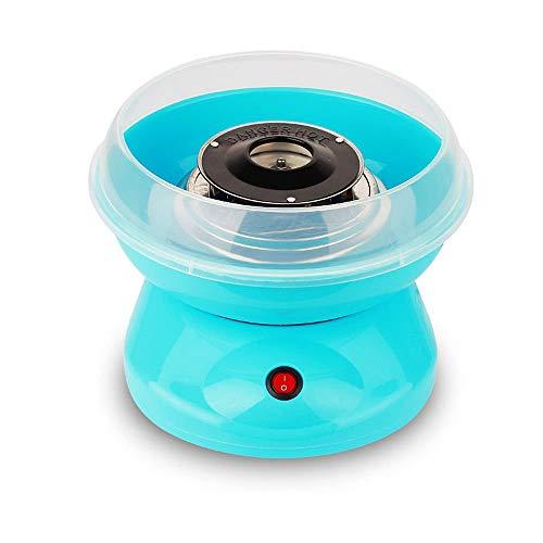 JUEYAN Zuckerwatte Maschine für Zuhause 450W Zuckerwattemaschine Weiß Blau Rosa Automat Zuckerwattegerät Cotton Candy Machine (Blau)