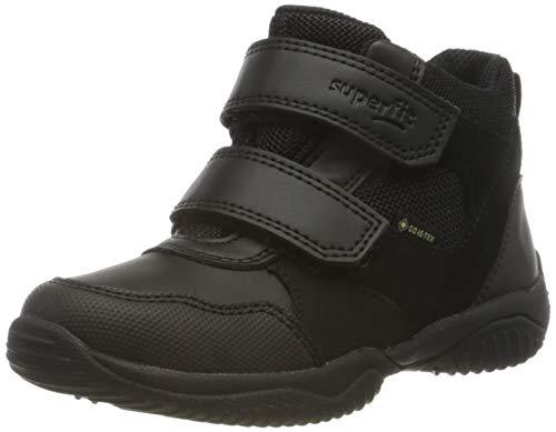 Superfit Jungen Storm Sneaker, Schwarz 0010, 27 EU