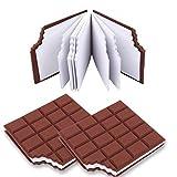 Block Notes LM BOOM 2 pz tavoletta cioccolato - oggetti utili per blocco appunti - oggetti particolari blocco note taccuino tascabile per idee regalo - cose utili idee per regali originali particolari