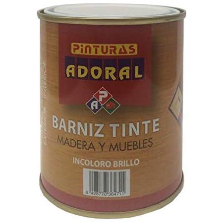Adoral - Barniz Sintético Incoloro 750 ml para madera (Satinado)