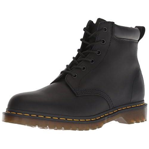 Dr.Martens Unisex 939 Ben Boot Greasy Leather Black Stivali 43 EU