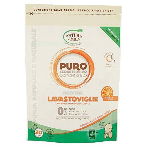 Natura Amica Puro detergente para lavavajillas en polvo, 250 g