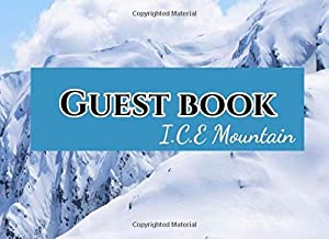 Guest book I.C.E Mountain: All events welcoming guest book participants registration