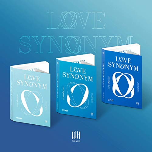 WONHO 'Love Synonym #2 Part.2 : Right for Us' (Random ver.) [ POSTER PHOTO | PHOTO BOOK | PHOTO CARD | STAMP STICKER | 4CUT PHOTO | PAPER ORNAMENT | BOOK MARK | SCRATCH CARD ] [Pre order]