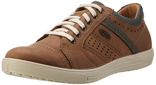 Jomos Herren Ariva Sneakers, Mehrfarbig (Nuß/Ozean), 43 EU