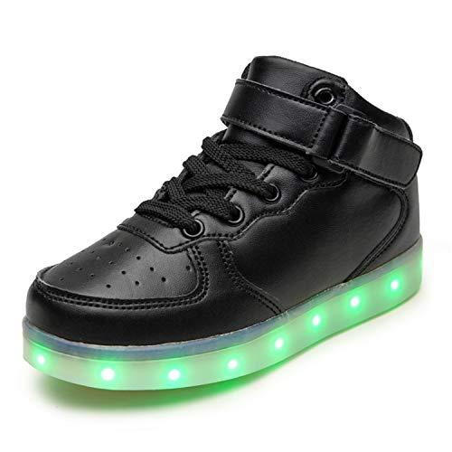 LEKUNI LED Chaussures Unisexe Homme...