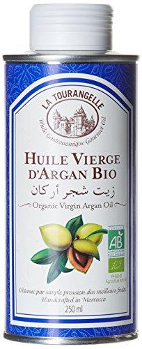 La Tourangelle - Huile vierge d'Argan 100% bio - Idéale en cuisine et en cosmétique - 250ml