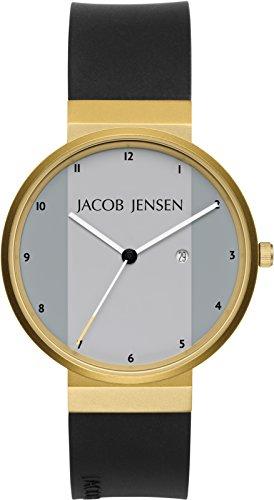 Jacob Jensen da uomo Orologi da polso analogico al quarzo New Series 736