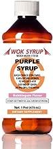 Wok Syrup (16oz) Purple (Bubblegum Flavor) Relaxation Syrup