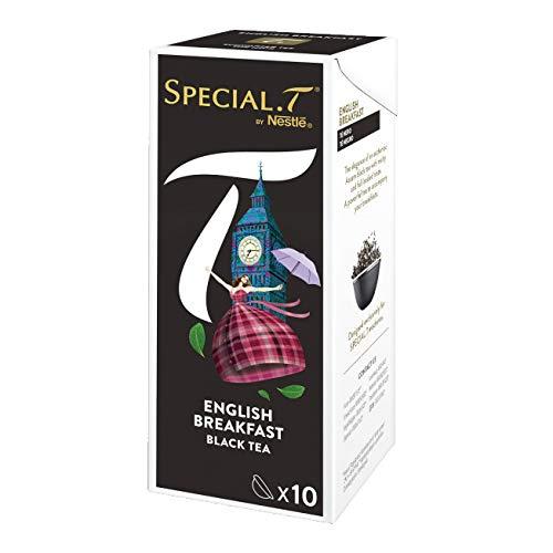 Original Special T - English Breakfast - Schwarztee - 20 Kapseln (2 Packungen) für Nestlé Tee Maschinen