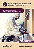 Aplicación de productos biocidas y fitosanitarios. SEAG0110