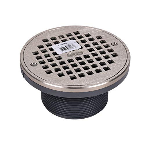 Round NI Grate & Ring & Plastic Barrel