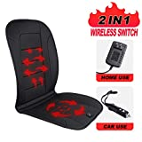 TISHIJIE Heated Car Seat Cushion with Wireless Intelligence Temperature...