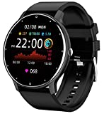 Smart Watch Compatible iPhone Android Phones Fitness Tracker Heart Rate Blood Pressure Waterproof Message Notification Full Touch Smartwatch for Women Men
