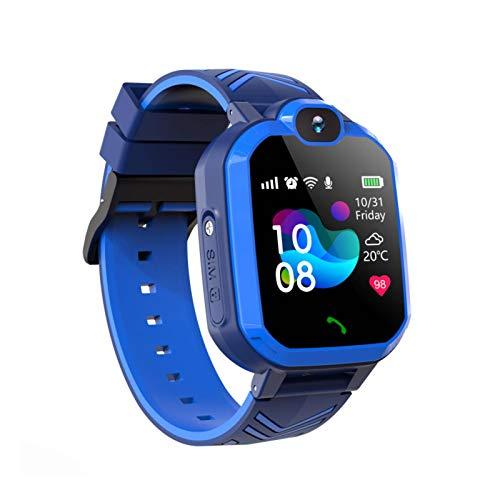 N-B R7 x reloj inteligente para niños reloj inteligente teléfono S O S para niños con tarjeta SIM llamada reloj localización Tracker impermeable smartwatch