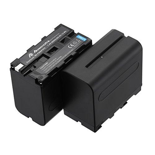 F970, F960, F930, F950, Powerextra 2Pack 8800mAh Sony Kamera Ersatz Akku für Sony dcr-vx2100, dsr-pd150, dsr-pd170, FDR-ax1, AX2000AX2000E, HDR-FX1, FX7, hdr-fx1000, hvl-lbpb, HD1000U, HVR-, Z1J