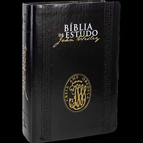 Bíblia de Estudo John Wesley - Capa Luxo: Nova Almeida Atualizada (NAA)