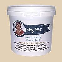 Mary Paint | Pintura para muebles efecto Chalk Paint, Arena Tostada - 750ml