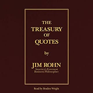 The Treasury of Quotes                   De :                                                                                                                                 Jim Rohn                               Lu par :                                                                                                                                 Braden Wright                      Durée : 1 h et 52 min     Pas de notations     Global 0,0