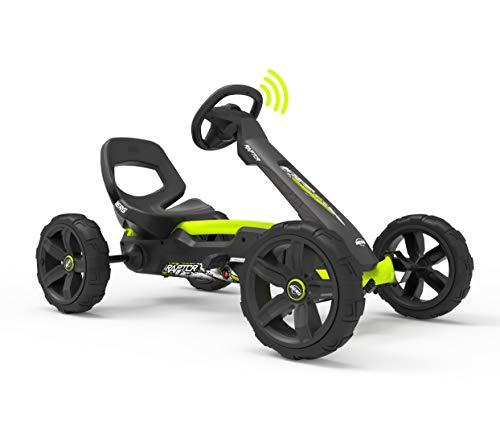 BERG Gokart Reppy Raptor | KinderFahrzeug, Tretauto mit Optimale Sicherheid, Mit Option zur Soundbox, Kinderspielzeug geeignet für Kinder im Alter von 2.5-6 Jahren