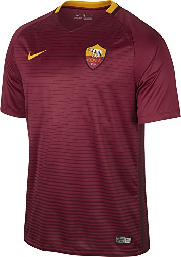 Nike Herren Trikot Home 2016/2017 As Rom, rot, XL-52/54
