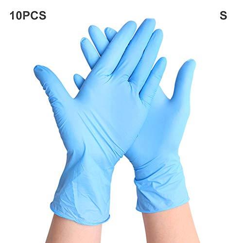 guanti senza polvere Luckyx - Guanti di protezione usa e getta