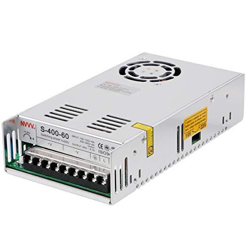 Universal Regulierte Schaltnetzteil AC DC 60V 6.6A 450W für CCTV, Radio, LED-Beleuchtung, Computerprojekt