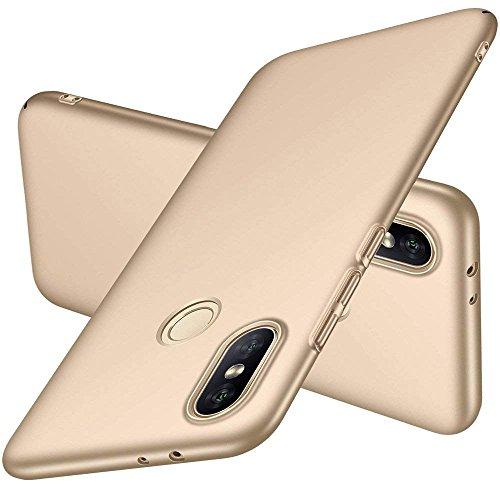 EYYC Huawei Honor 8X MAX Funda, Cubierta Delgado Caso de PC Hard Gel Funda Protective Case Cover para Huawei Honor 8X MAX Smartphone (Dorado)