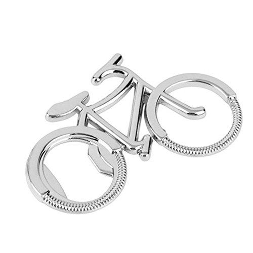 XZANTE Regalo Creativo Bicicletta in Metallo a Forma di Bicicletta Apri del Tappo della Bottiglia di Birra