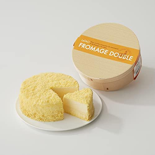 ルタオ (LeTAO) チーズケーキ ドゥーブルフロマージュ ホール 4号(2~3人分)