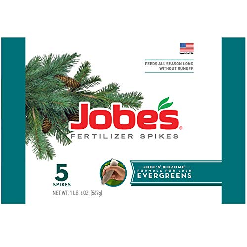 Jobe's 01001 1001 Evergreen Fertilizer Spikes, 5