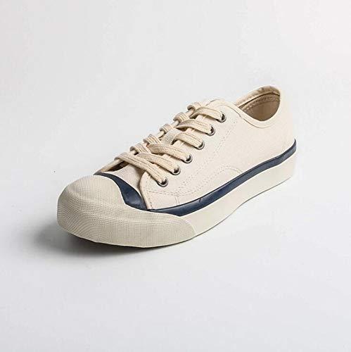 XL_nsxiezi Student Wild Canvas Schuhe tragen Freizeitschuhe, 35, beige