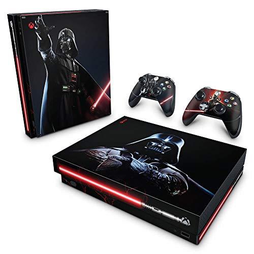 Skin Adesivo para Xbox One X - Star Wars - Darth Vader
