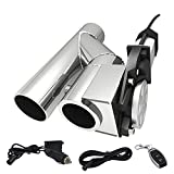 SPELAB 2.5 Inch Stainless Steel Exhaust Pipe Kit