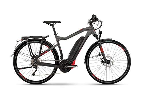 Haibike Sduro Trekking S 8.0 Pedelec E-Bike Fahrrad grau/schwarz/rot 2019: Größe: XL